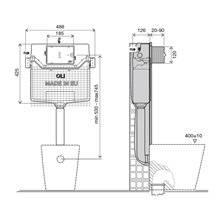 Cassetta a incasso meccanica OLI120 PLUS