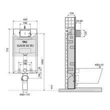 Cassetta a incasso Simflex meccanica OLI120 PLUS
