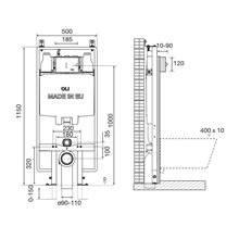 Cassetta a incasso Sanitarblock meccanica OLI74 PLUS S90